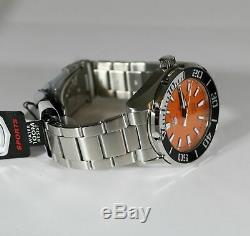 Seiko 5 Sports Orange Dial Automatic Men's Watch SRPC55K1