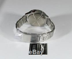 Seiko Chronograph White Dial Stainless Steel Men's Watch SKS637P1
