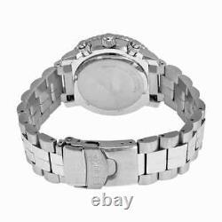 Seiko Flight Chronograph Steel Black Dial Men's Watch SNA411