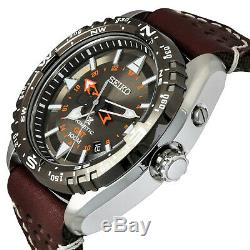 Seiko Prospex Land Kinetic GMT 100m Men's Watch SUN061P1 Brand New