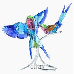 Swarovski Crystal Lilac-breasted Rollers #5258370 Brand Nib Birds Save$$ F/sh