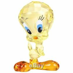 Swarovski Crystal Tweety Figurine #5465032 Brand Nib Looney Tunes Save$ Cute F/s