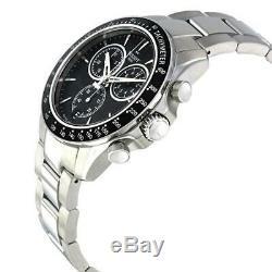 TISSOT V8 T1064171105100 Quartz Black Dial Chronograph Men's Watch