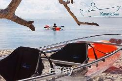 TWO CRYSTAL KAYAKS! Transparent Clear Bottom Canoe / Kayak Watch the Video