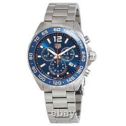Tag Heuer Formula 1 Chronograph Blue Dial Men's Watch CAZ1014. BA0842