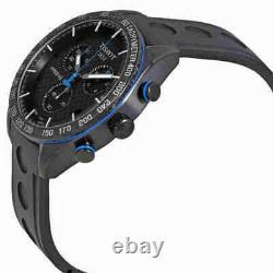 Tissot Men's PRS 516 Chronograph Black Carbon Dial Watch T1004173720100 NEW