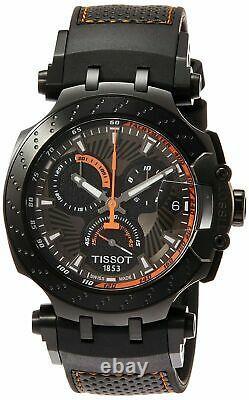 Tissot Men's T-Race Marc Marquez 2018 Chronograph Watch T1154173706105 NEW