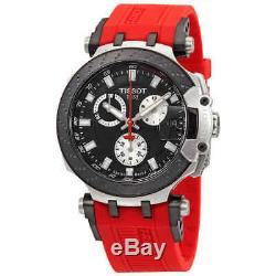 Tissot T-Race Chronograph Quartz Black Dial Men's Watch T1154172705100