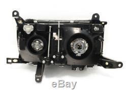 USA Plug & Play EURO Crystal Glass Headlights For 91-97 Toyota Land Cruiser FJ80