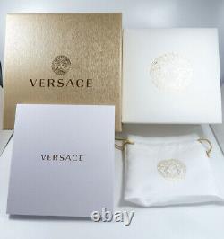 Versace Men's Watch VBQ060017 V Stainless Steel Swiss Made Brand Watch New