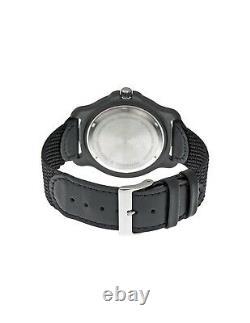Victorinox 249085 Swiss Army Original XL Swiss Quartz Watch Black Nylon Band