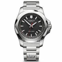 Victorinox Swiss Army Men's Watch I. N. O. X. Black Dial 241723.1