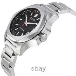 Victorinox Swiss Army Men's Watch I. N. O. X. Black Dial 241723.1 Authorized Dealer