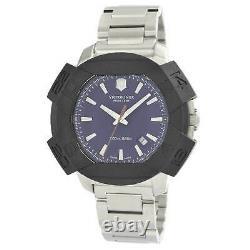Victorinox Swiss Army Men's Watch I. N. O. X. Blue Dial 241724.1 Authorized Dealer