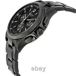 Victorinox Swiss Army Men's Watch Night Vision Black Dial Bracelet 241730