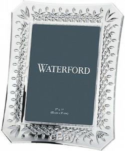 WATERFORD CRYSTAL LISMORE PICTURE FRAME 5 x 7 BRAND NEWithGIFT BOXED