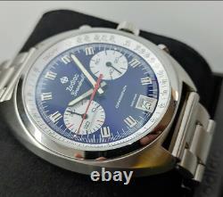 Zodiac Grandrally Chronograph Blue Stainless Steel Men's Watch ZO9601